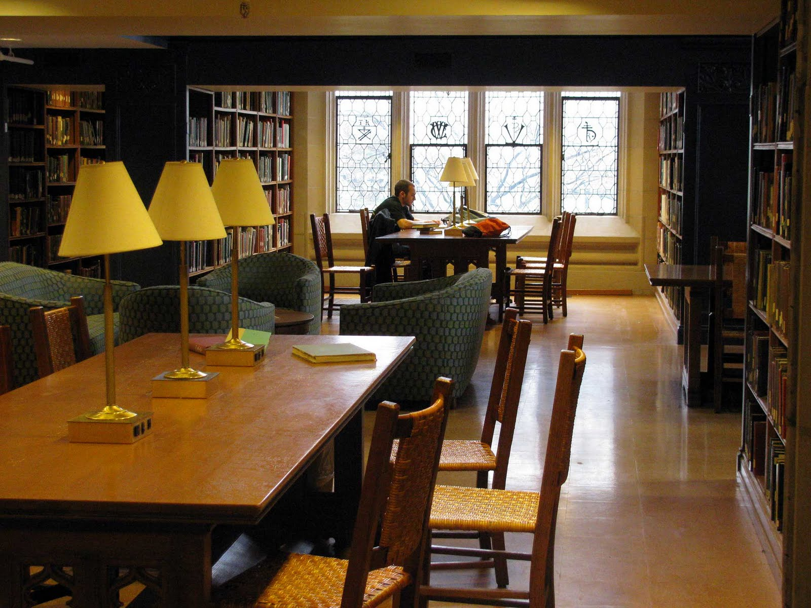 Duke Library Reserve Room